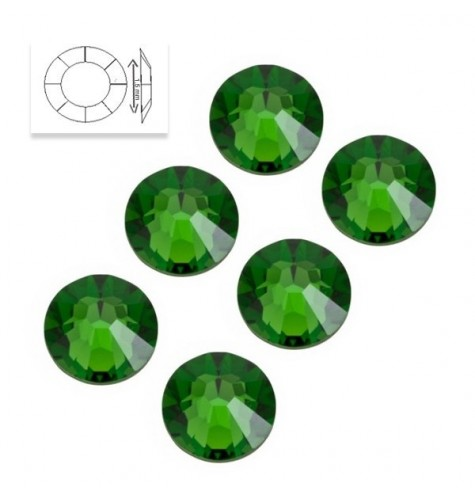 Strass SS5 Grass Green 50pcs