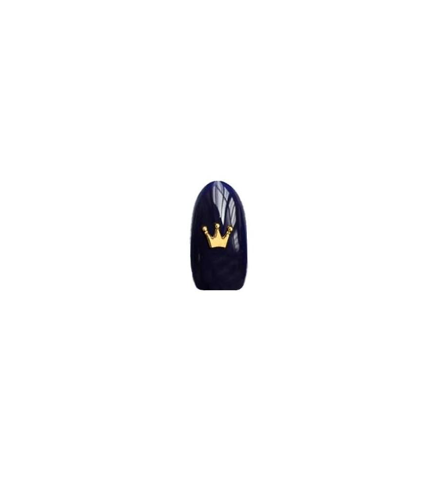 Decor 3D Courrone 1 pcs pour manucure ongles et nail art en gel uv.