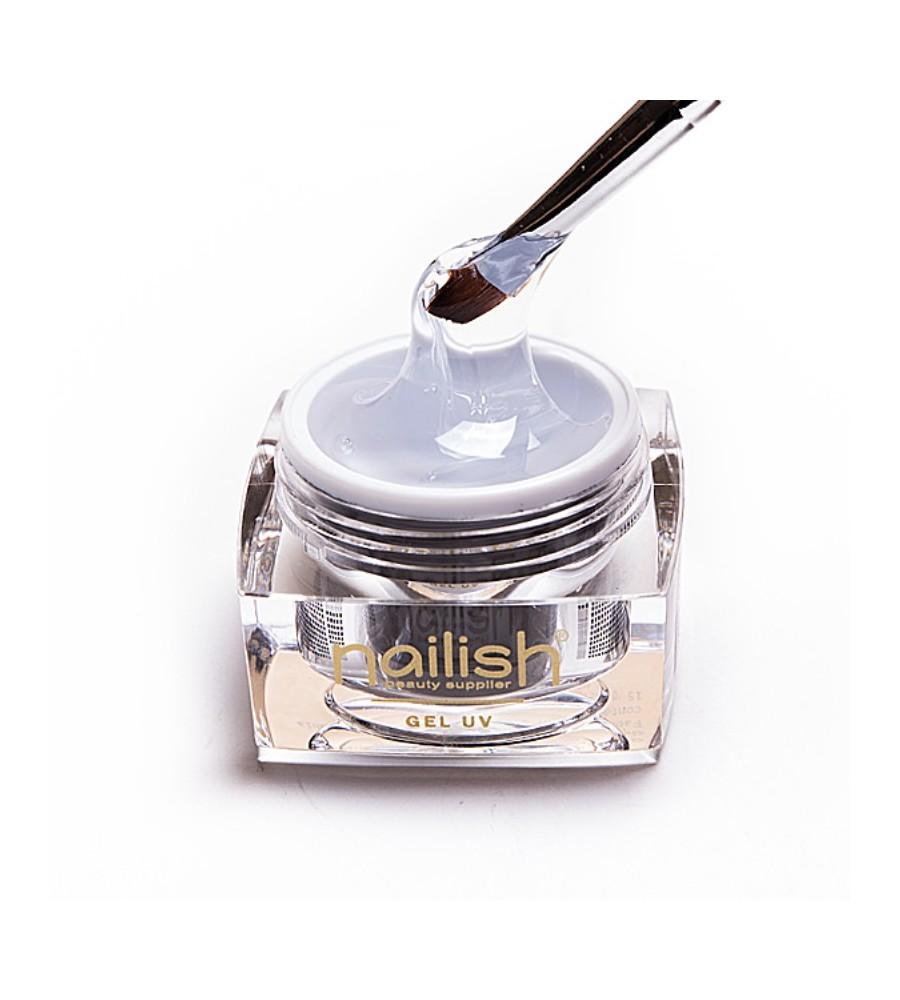 Gel UV Builder Nailish Thick 30 ml pour manucure ongles et nail art en gel uv.