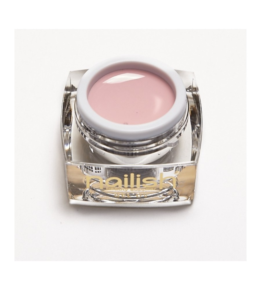 Gel UV Color Nailish Dusty Pink 5 ml pour manucure ongles et nail art en gel uv.