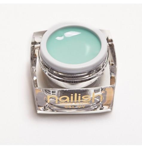 Gel UV Color Nailish Silky green 5 ml