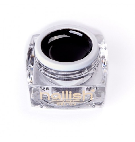 Nailish Gel UV Color Black 5 ml