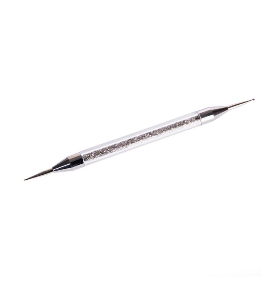 Dotting Tool Cristaux pour manucure ongles et nail art en gel uv.