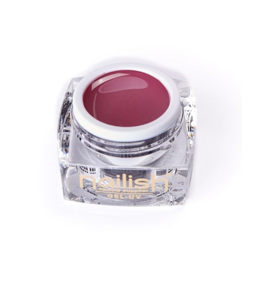 Gel Couleur Nailish Romantic 5ml pour manucure ongles et nail art en gel uv.