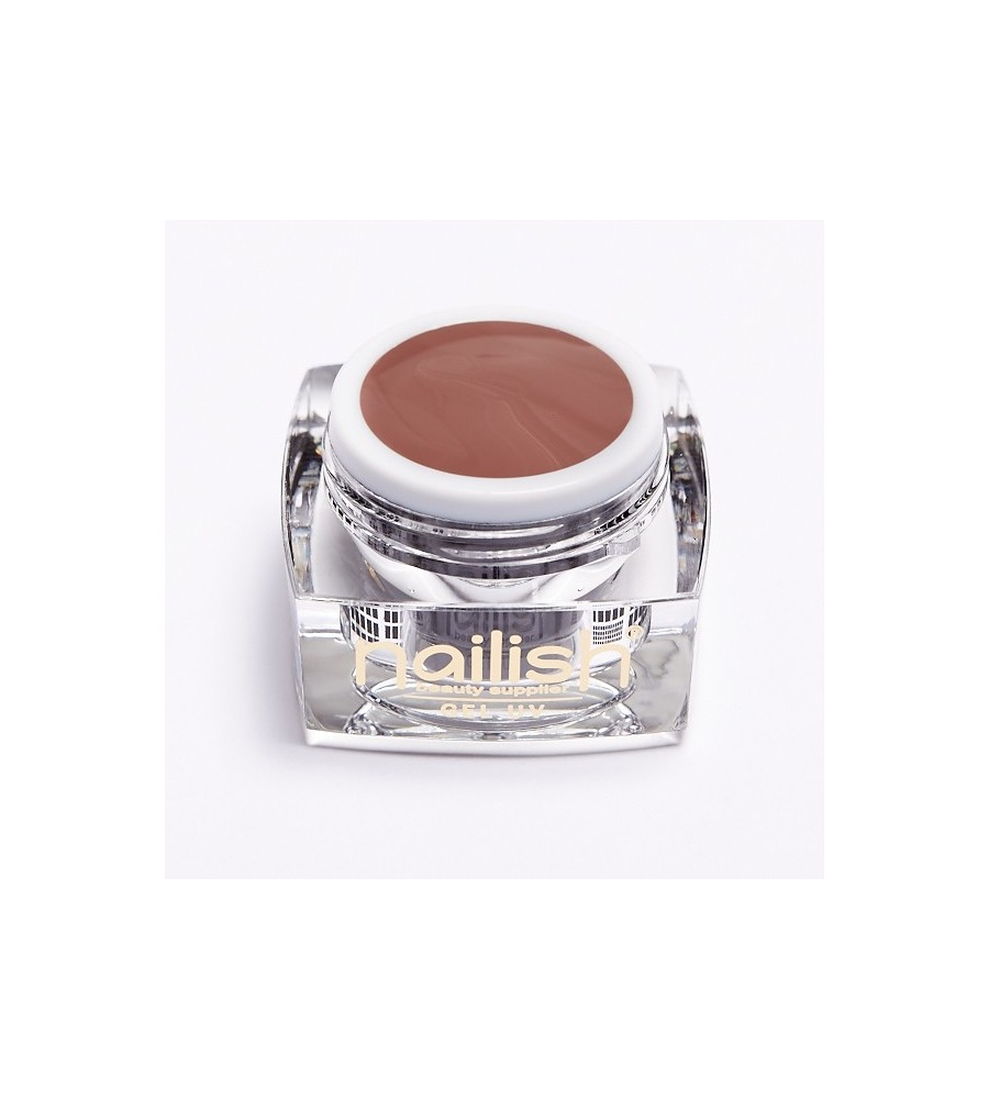 Gel UV Color Dark Almond 5 ml- manucure ongles et nail art pour gel uv