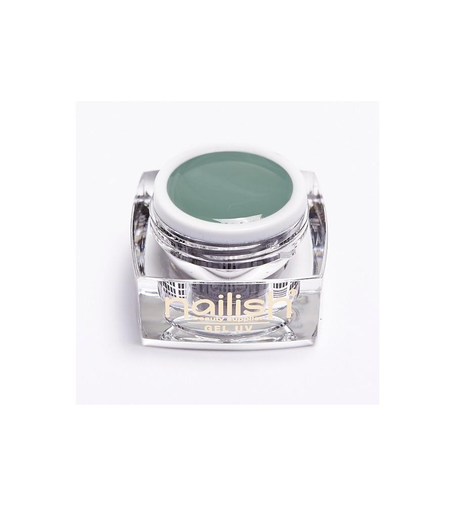 UV Gel Color Nailish Holliday Green 5 ml pour manucure ongles et nail art en gel uv.