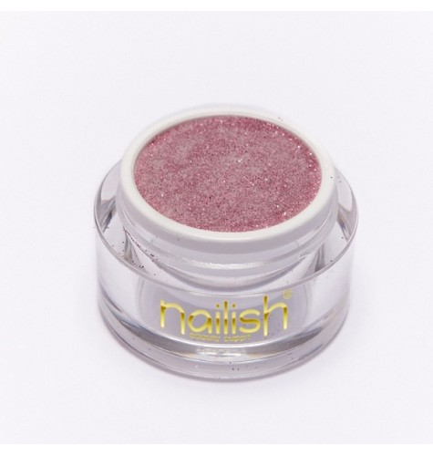 Poudre Acrylique Nailish Color Glitter Pink 3.5 gr