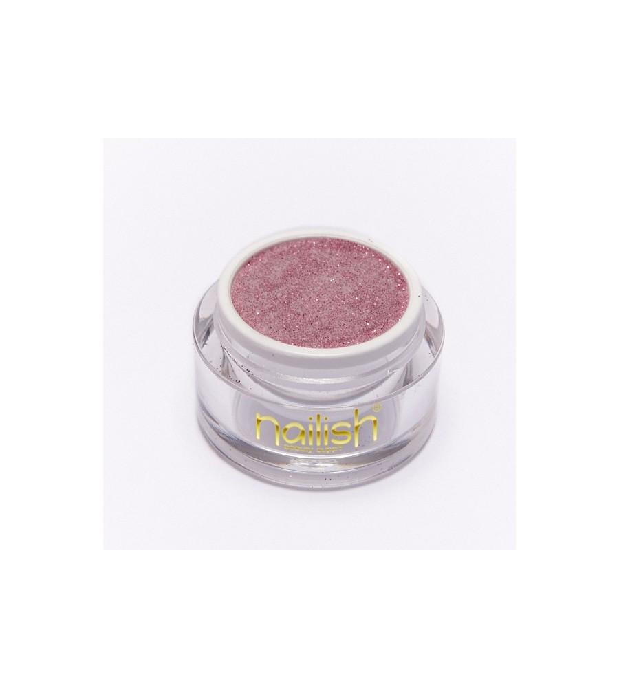 Poudre Acrylique Color Glitter Pink 3.5 gr - résine, momnomère, gel, manucure ongles et nail art pour gel uv