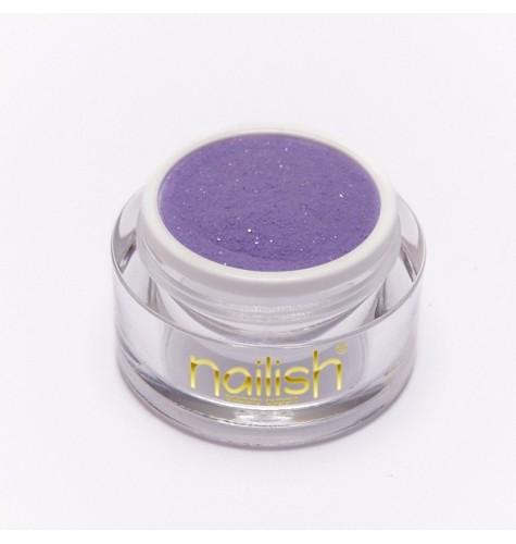 Nailish Poudre Acrylique Color Lila 3.5 gr - résine, momnomère, gel, manucure ongles et nail art pour gel uv