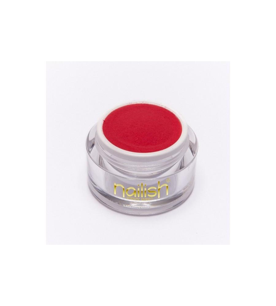 Poudre Acrylique Color Red 5 gr - résine, momnomère, gel, manucure ongles et nail art pour gel uv