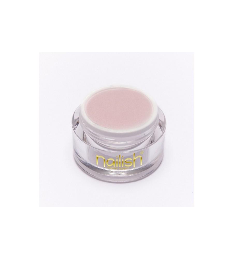 Nailish Poudre Acrilique Color Pastel Rose 3.5 gr - résine, momnomère, gel, manucure ongles et nail art pour gel uv