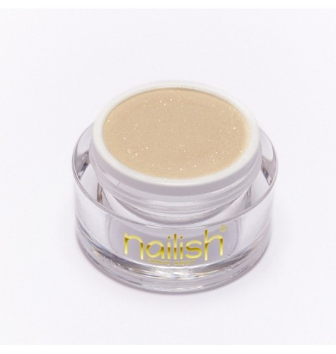 Poudre Acrylique Nailish Color Glitter Gold 3.5 gr