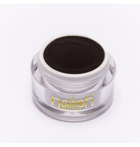 Poudre Acrylique Nailish Color Black 3.5 gr