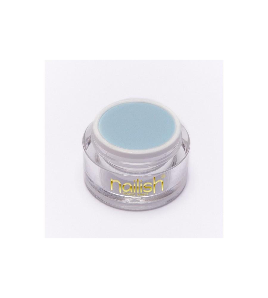 Nailish Poudre Acryilique Color Light Blue 3.5 - résine, momnomère, gel, manucure ongles et nail art pour gel uv