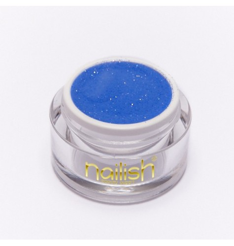Poudre Acrylique Nailish Color Blue Azure 3.5 gr