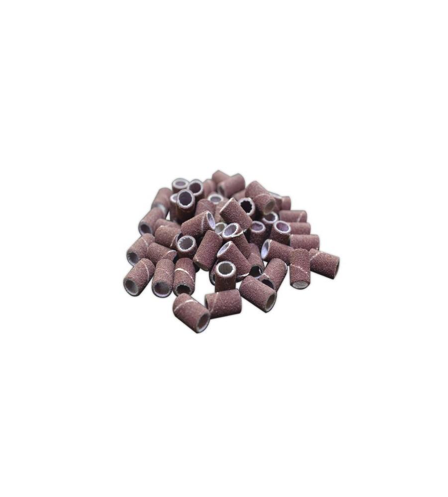 Emeris Ponceuse Grain 60, 10 pcs pour manucure ongles et nail art en gel uv.