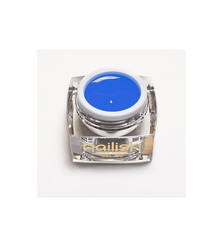 Gel Neon UV/LED Blue Hawaiian pour manucure ongles et nail art en gel uv