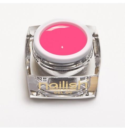 Gel Neon UV/LED Panthere Rose pour manucure ongles et nail art en gel uv.