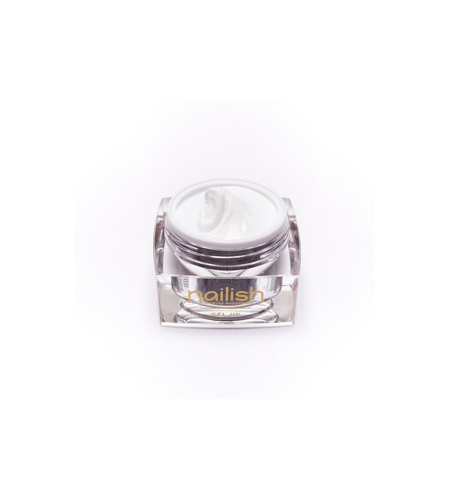 Gel UV Builder French White Nailish 30 ml pour manucure ongles et nail art en gel uv.