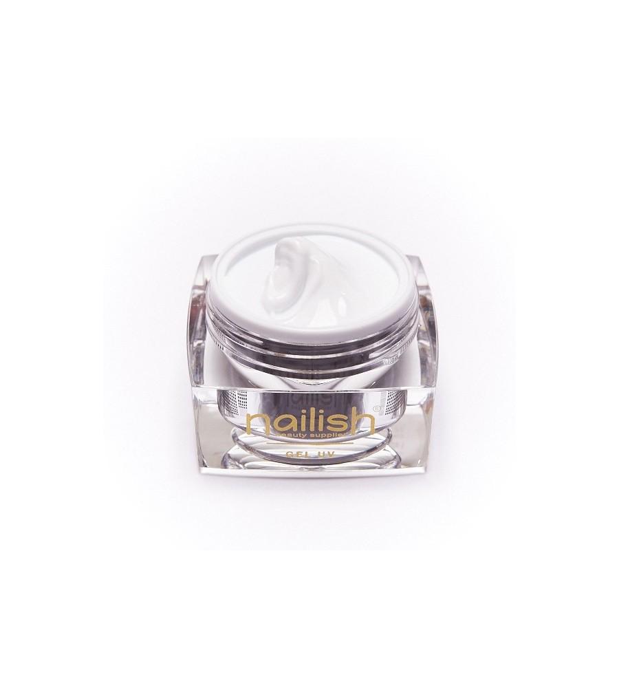 Gel UV Builder French White Nailish. 50 ml pour manucure ongles et nail art en gel uv.