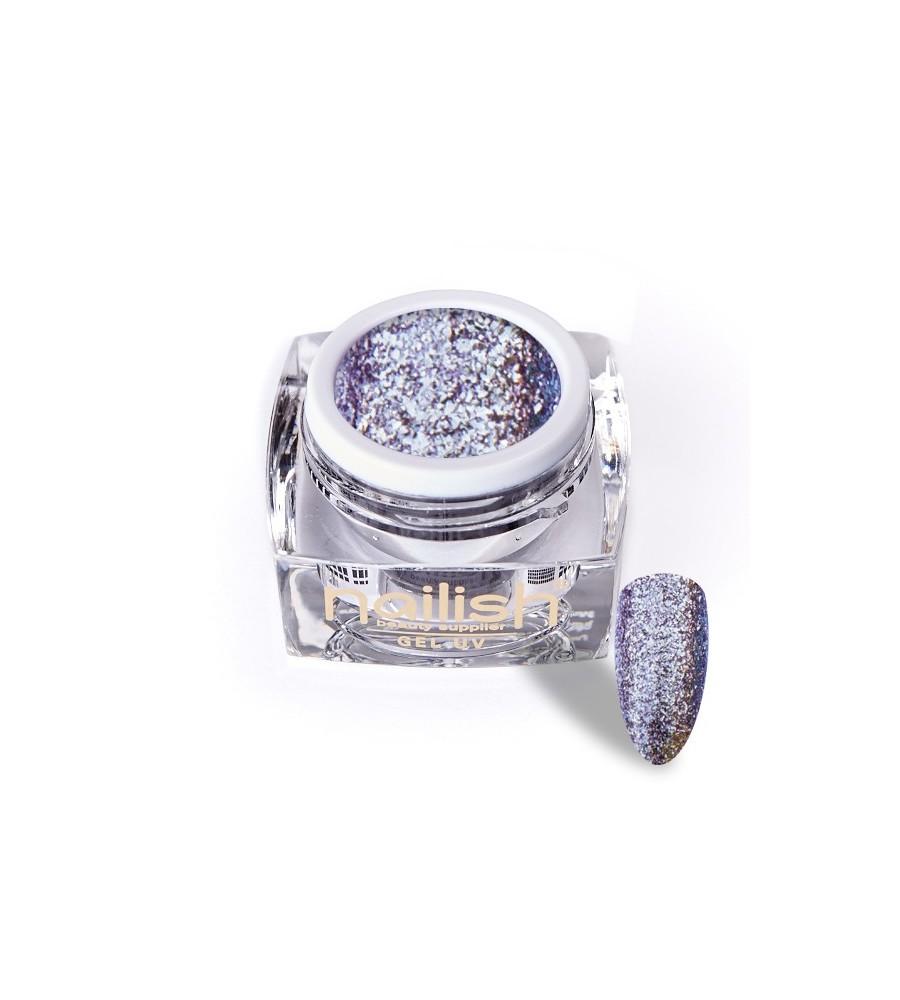 Gel Glitter UV/LED Luxury Morgan 5ml pour manucure ongles et nail art en gel uv.