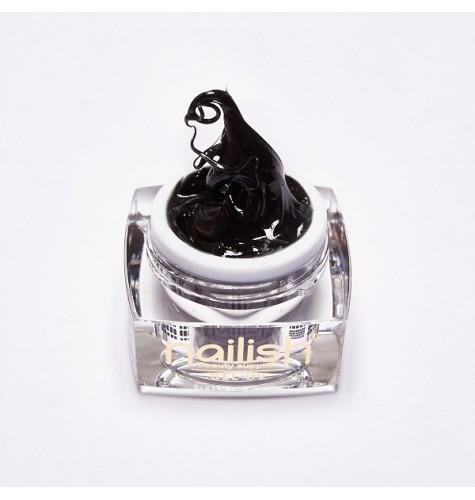 Gel 3D Les Mystères du Nail Art Noir 5 ml