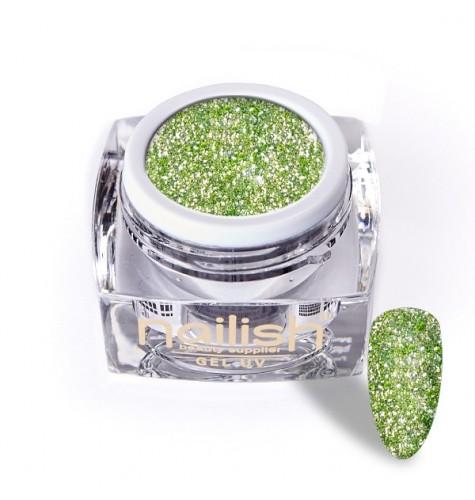 Gel Glitter UV/LED Luxury Green Garnet 5ml*