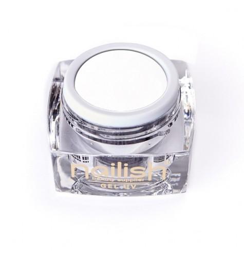 Gel UV/LED Sweet Bloom Nailish White 5ml manucure ongles et nail art en gel uv
