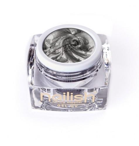 Gel UV/LED Sweet Bloom Nailish Silver 5ml manucure ongles et nail art en gel uv