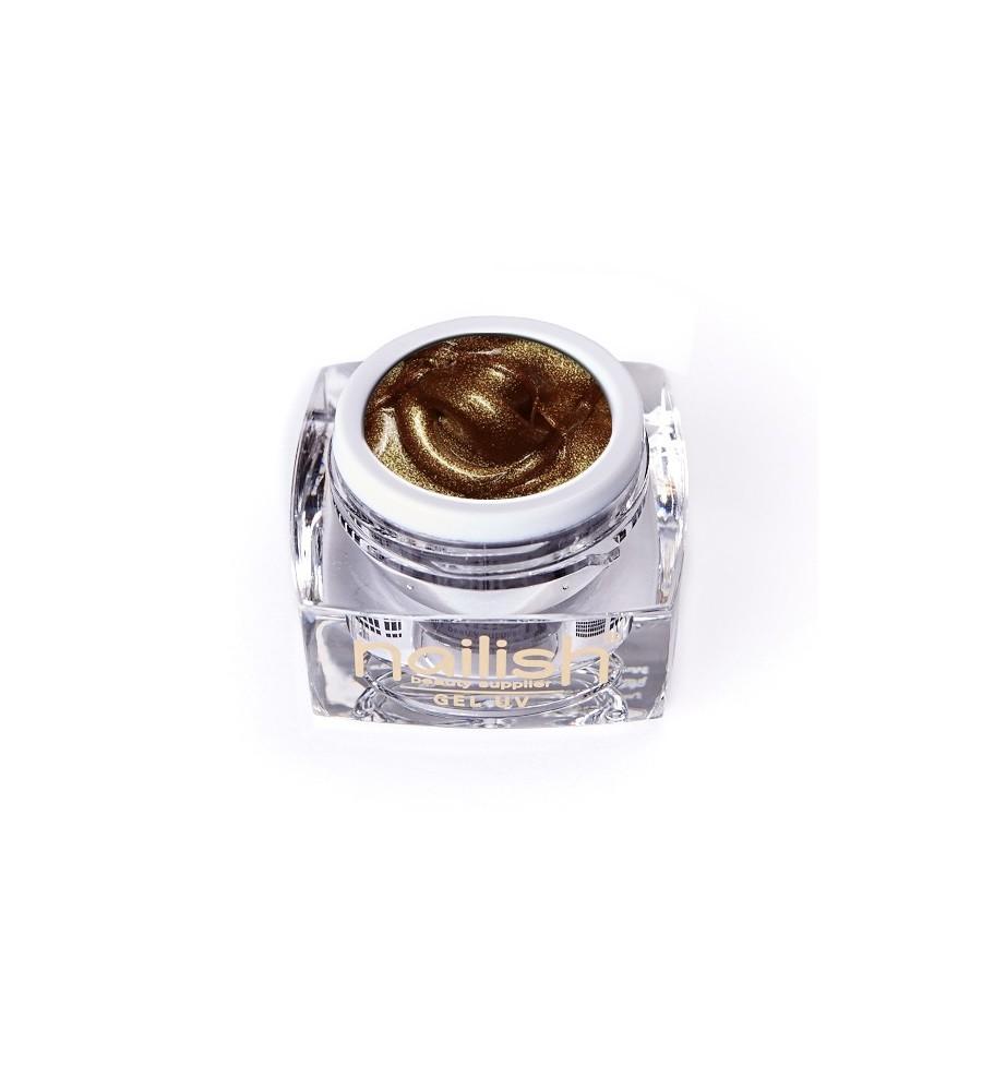Gel UV/LED Sweet Bloom Baroc Gold 5ml manucure ongles et nail art en gel uv
