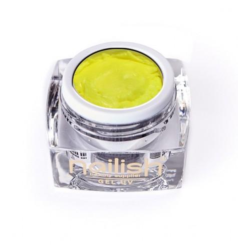 Gel UV/LED PlastArt Nailish Yellow 5ml