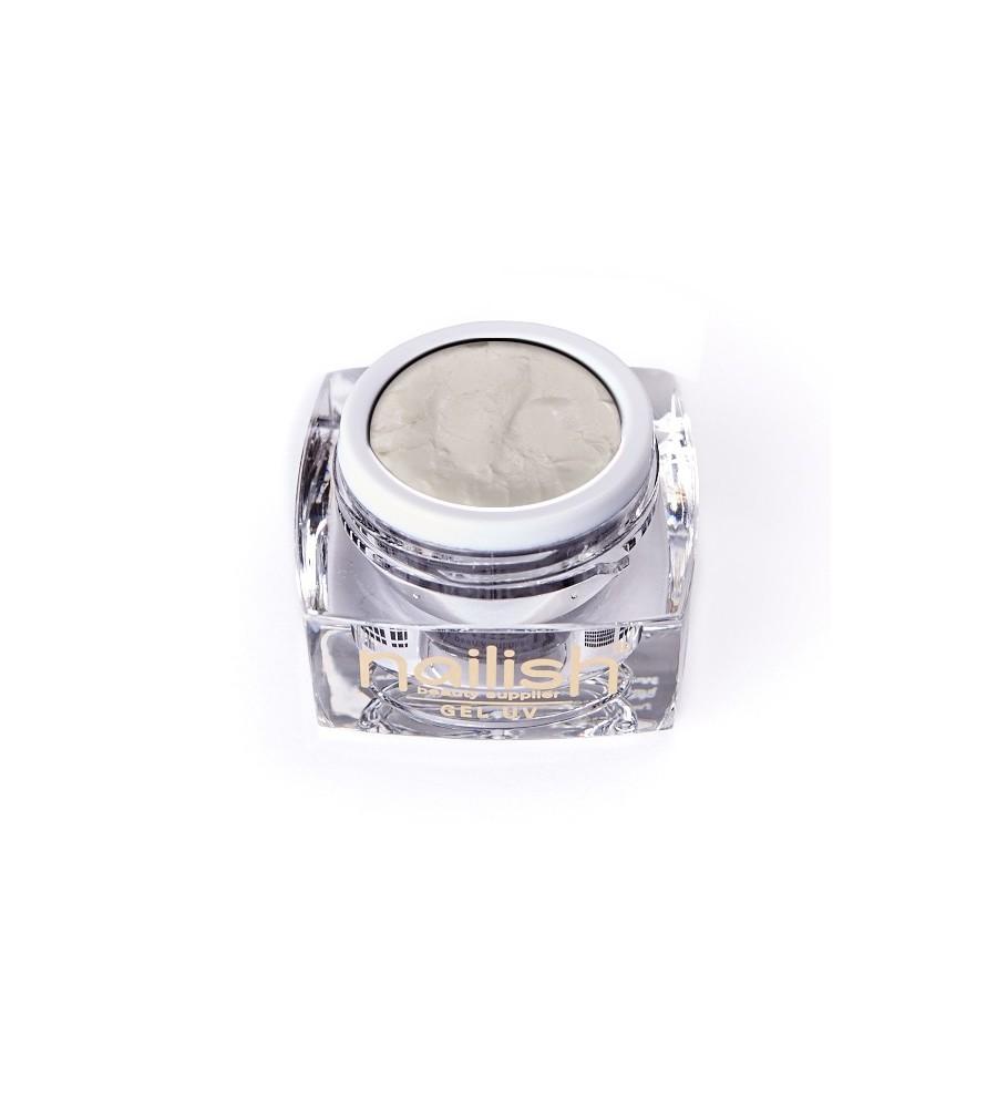 Gel UV/LED PlastArt Nailish White 5 ml manucure ongles et nail art en gel uv