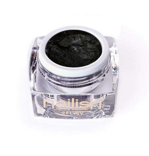 Gel UV/LED PlastArt Nailish Black 5 ml