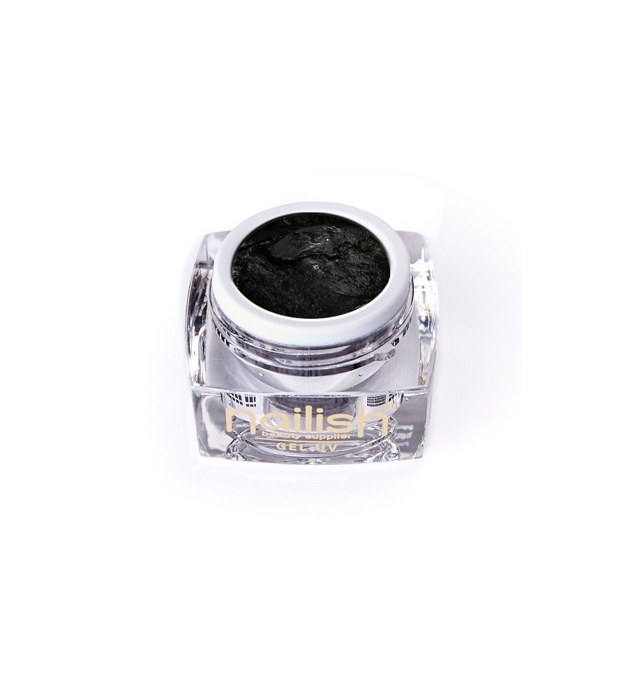 Gel UV/LED PlastArt Nailish Black 5 ml manucure ongles et nail art en gel uv