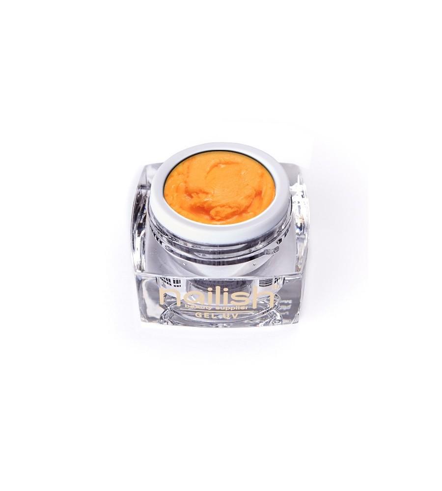 Gel UV/LED PlastArt Nailish Orange 5 ml manucure ongles et nail art en gel uv