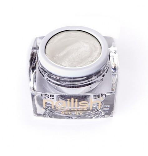 Gel UV/LED PlastArt Nailish Pearly White 5 ml