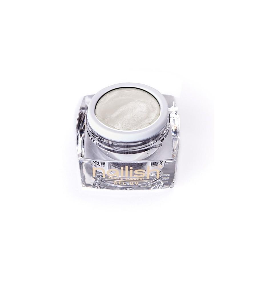 Gel UV/LED PlastArt Nailish Pearly White 5 ml manucure ongles et nail art en gel uv