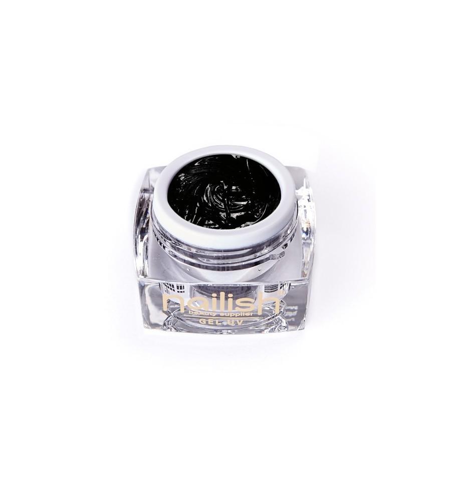 Gel UV/LED Sweet Bloom Nailish Black 5ml manucure ongles et nail art en gel uv