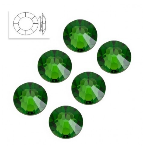 Strass SS4 Grass Green 50pcs manucure ongles et nail art en gel uv