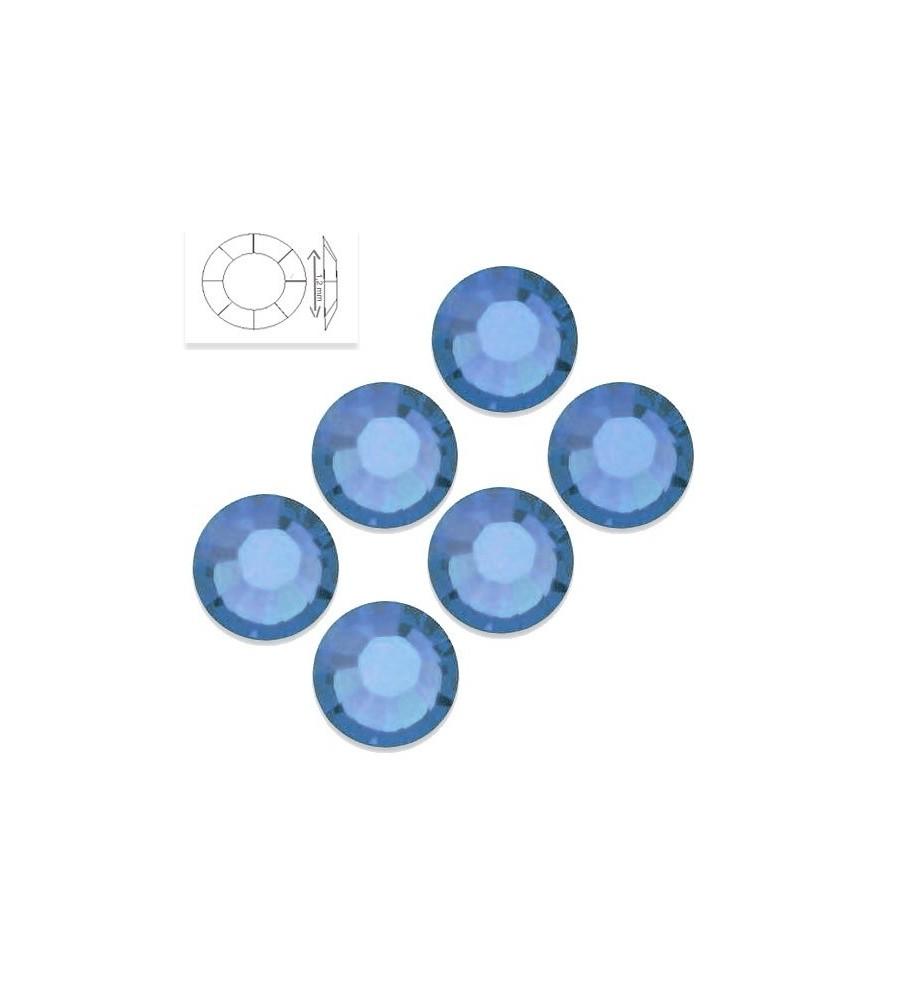 Strass SS4 Aquamarine manucure ongles et nail art en gel uv
