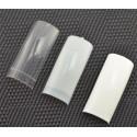 Capsules Ongles Plates Petite Encoche Blanches 100 pcs/ Boite
