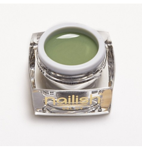 Gel UV - LED Color Nailish Olive 5ml.