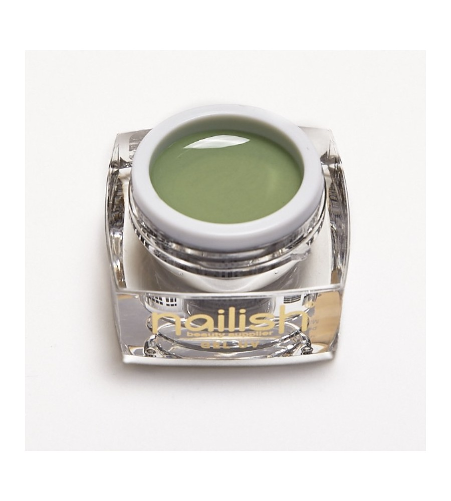 Gel UV Color Nailish Olive 5ml pour manucure ongles et nail art en gel uv.