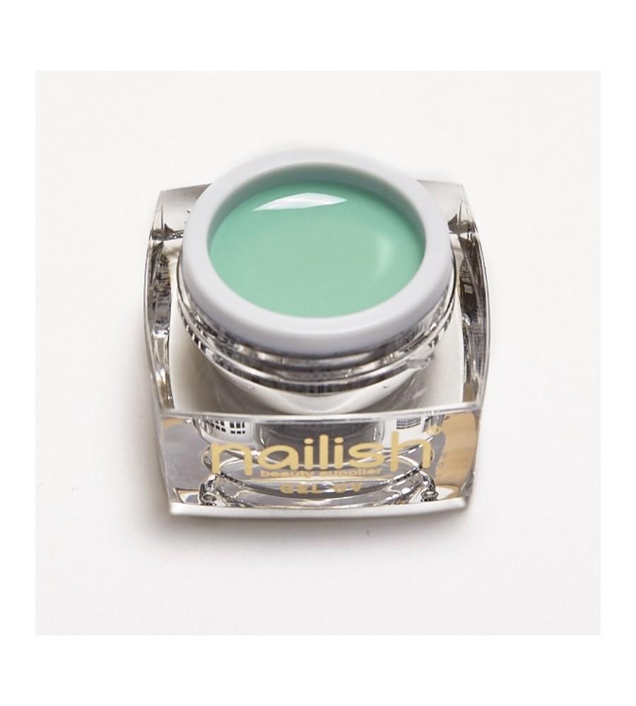 Gel UV Color Nailish Mint 5 ml pour manucure ongles et nail art en gel uv.