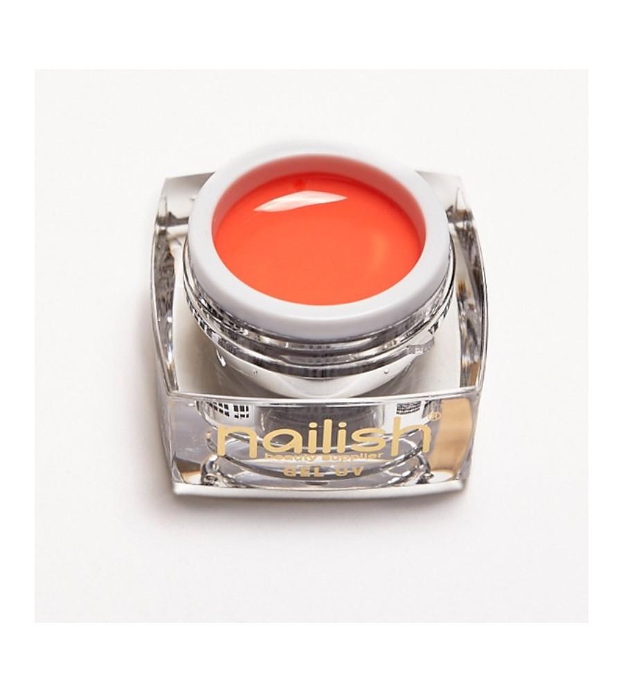 Gel Couleur Nailish Blush 5ml pour manucure ongles et nail art en gel uv.