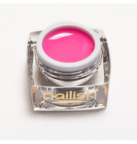 Gel UV Color Nailish Pink 5 ml pour manucure ongles et nail art en gel uv.