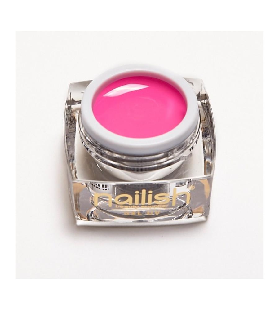 Gel UV Color Nailish Pink 5 ml pour manucure ongles et nail art en gel uv.