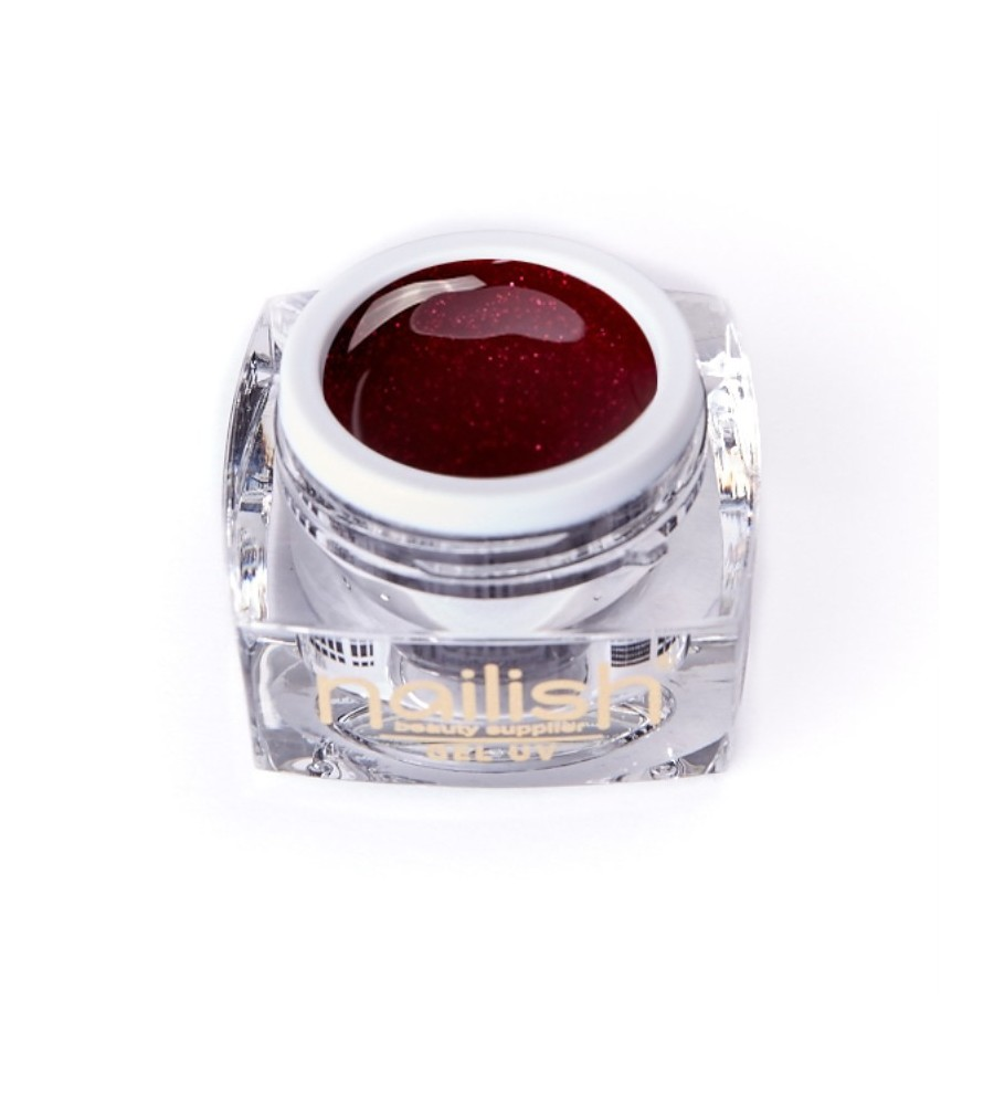 Nailish Glitter Gel UV - LED Sparkling Wine 5 ml