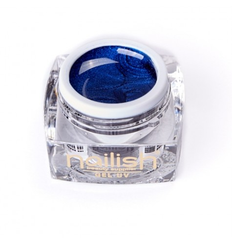 UV/LED Gel Glitter Nailish Blue Lagoon 5 ml.