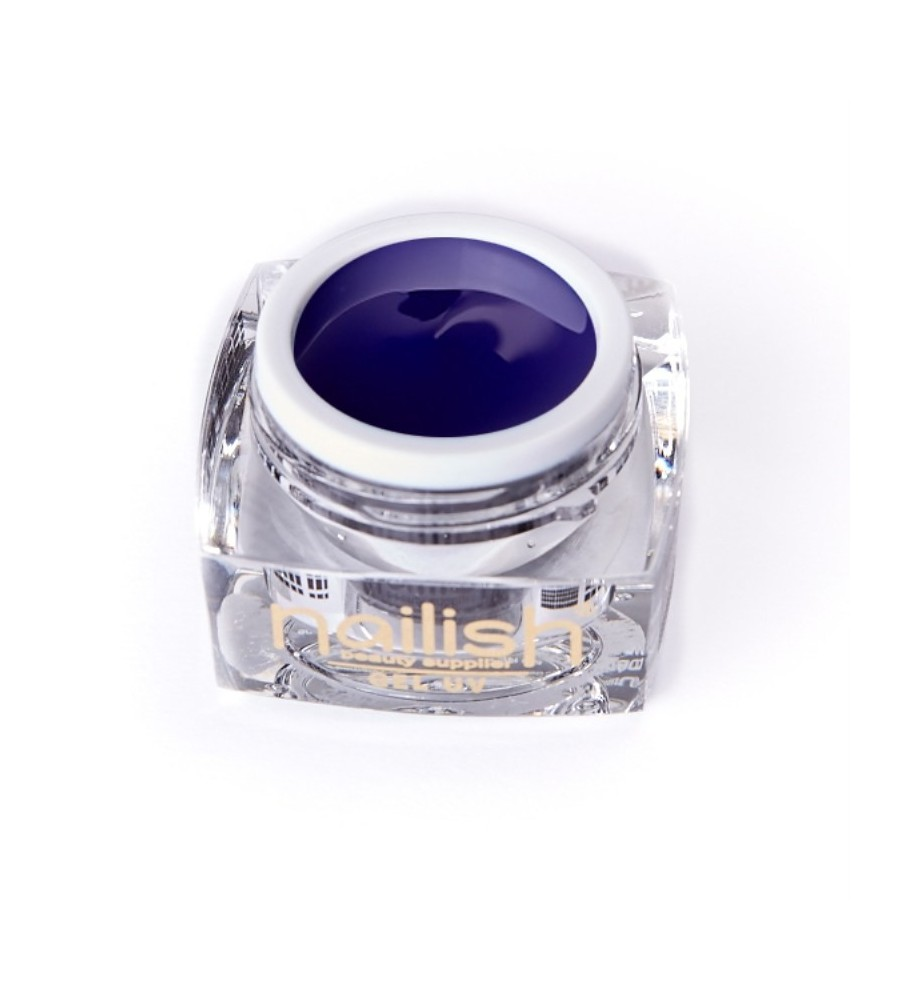 Gel UV Color Nailish Indigo 5 ml - manucure ongles et nail art